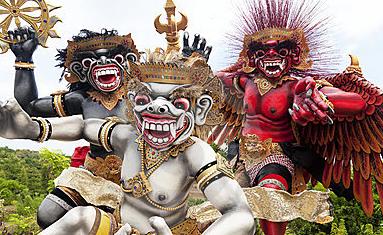 Jelang Nyepi, Ada Parade Ogoh-ogoh Di Taman Monas