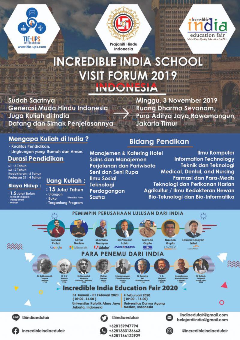 Penjelasan dan Dialog tentang Studi di Perguruan Tinggi di India
