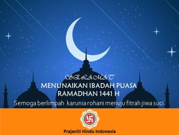 Selamat Ibadah Puasa Ramadhan 1441 H