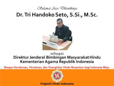 Selamat Atas Pelantikan Dirjen Bimas Hindu