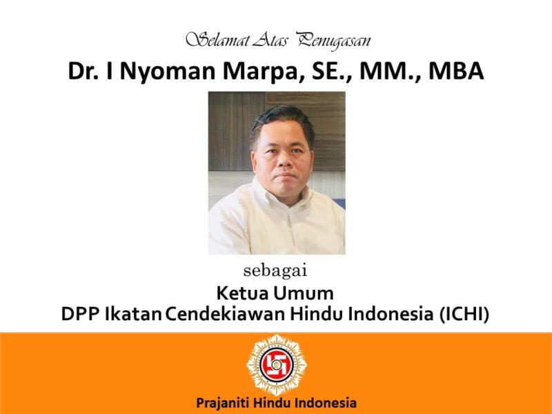 Selamat Atas Penugasan Ketua Umum ICHI