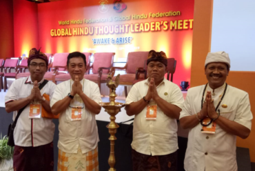 Empat Kader Muda Hindu Warnai Pertemuan Hindu Dunia di Nepal