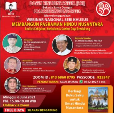 Membangun Pasraman Hindu Nusantara Bertaraf Internasional