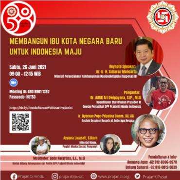 Membangun Ibu Kota Negara Baru Untuk Indonesia Maju