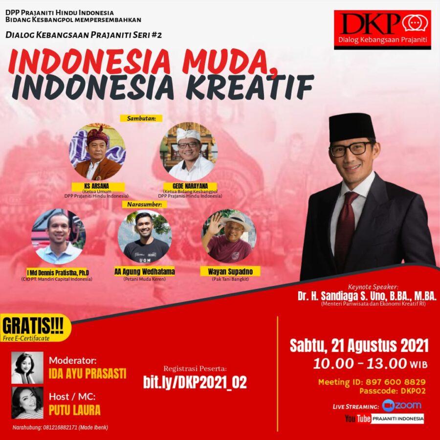 Indonesia Muda, Indonesia Kreatif